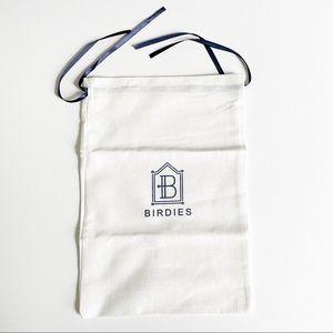 Birdies NWOT  Signature Shoe Duster Storage Bag